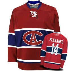 Montreal Canadiens Tomas Plekanec Official Red Reebok Authentic Adult New CA NHL Hockey Jersey