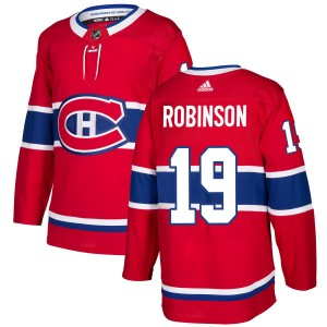 Montreal Canadiens Larry Robinson Official Red Adidas Authentic Adult NHL Hockey Jersey